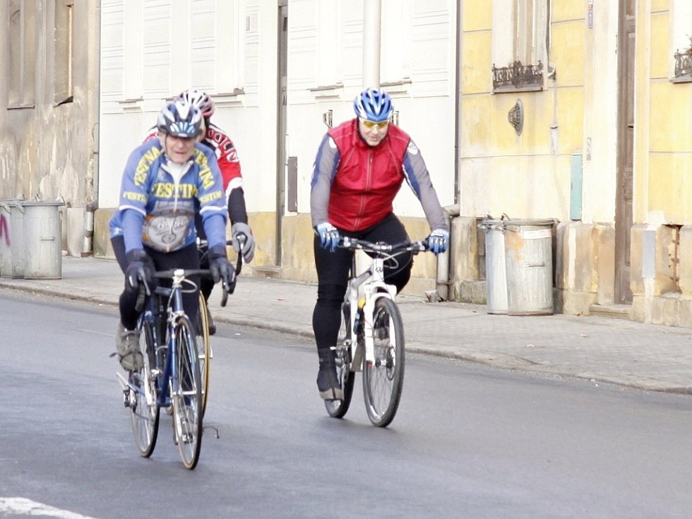 Novoroční cyklistická vyjížďka MB 2012