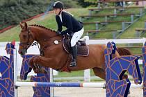 PRO PRVENSTVÍ v Amateur Tour si v Ptýrově dojela Leona Chladníčková s klisnou Cinderella Z.