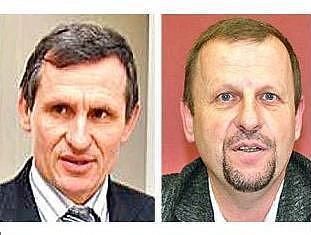 Jaromír Jermář (vpravo) vyzval Jiřího Čunka, aby rezignoval.