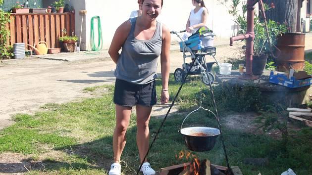 Nejlepší guláš uvařila Klára Barešová