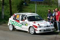 Rally Bohemia - 1. rychlostní zkouška Vinec - Skalsko