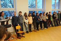 Ze slavnostního otevření přístavby v Základní škole v Bakově nad Jizerou.