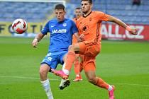 Fotbalisté Mladé Boleslavi po nepovedeném závěru zápasu prohráli v Liberci 1:2.