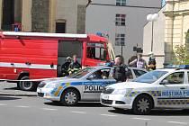 Anonym nahlásil bombu na obou budovách magistrátu