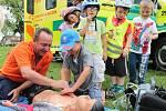 V Žehrově pořádali pro děti dopravní odpoledne