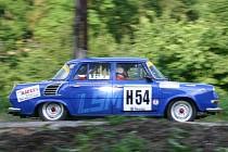 Rally Bohemia Historic show: 1.RZ Vinec - Skalsko