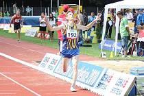 Boleslavský atlet Jiří Zemjánek si v Břeclavi doběhl pro zlato v behu na 3000 metrů překážek