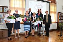 Z předávání ceny Středočeský Kramerius 2020 a 2021