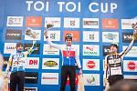 Z cyklokrosového Toi Toi Cupu v Uničově, kde se zároveň konalo mistrovství České republiky.