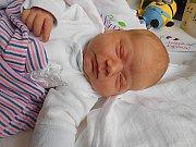 Jolanka Kopalová se narodila 6. listopadu, vážila 3,94 kg a měřila 52 cm. S maminkou Danou a tatínkem Jirkou bude bydlet v Mladé Boleslavi, kde už se na ni těší sestřička Lilianka.