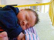 Vojtěch Dufek se narodil 23. prosince, vážil 3,21 kg a měřil 49 cm. S maminkou Šárkou a tatínkem Vojtěchem bude bydlet v Mladé Boleslavi.