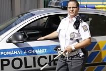 Policistka zvítězila v krajské soutěži