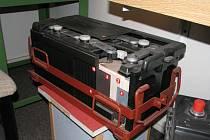 Historická baterie do tanku
