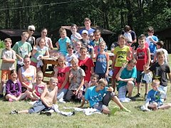 Děti se severu Čech jsou v dětském táboře Pohádka v Bělé druhým rokem
