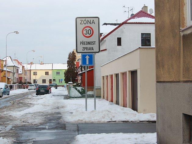 Nový dopravní režim. Janáčkova ulice. Ilustrační foto