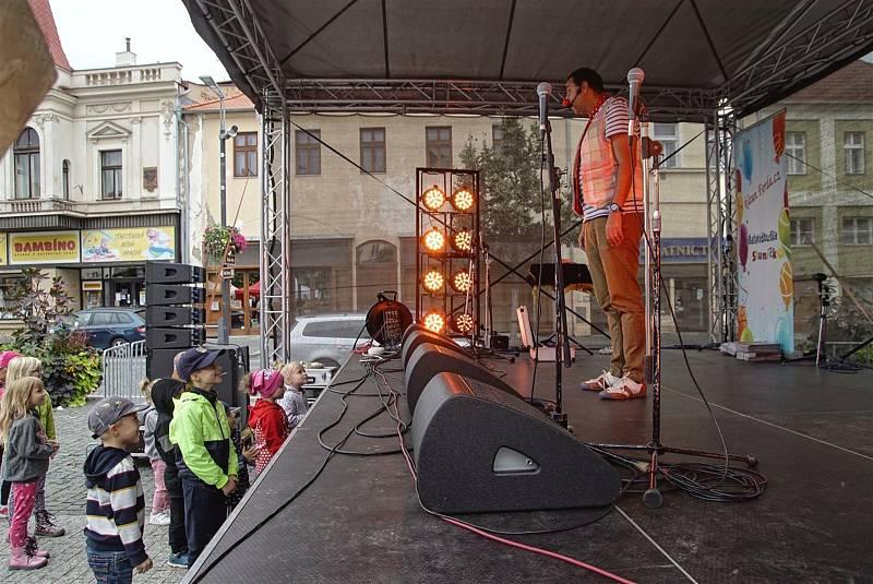 Ze Staroměstských slavností v Mladé Boleslavi.