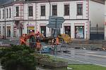 Rekonstrukce náměstí v Mnichově Hradišti