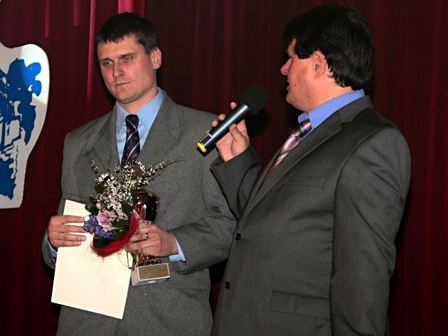 Petr Martinec (vlevo) bude usilovat o zvolení do čela českého badmintonu