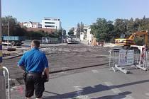 Most U Měšťáků hlídají policisté