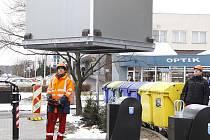 První stanoviště podzemních kontejnerů v Boleslavi