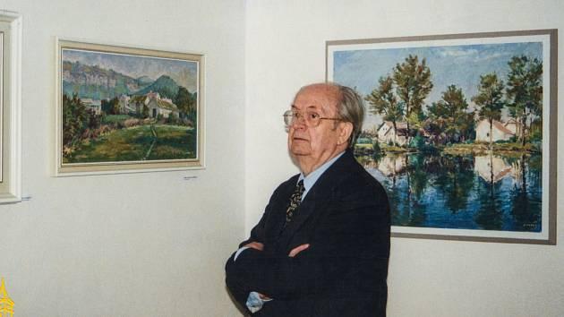 Malíř Josef Marek.