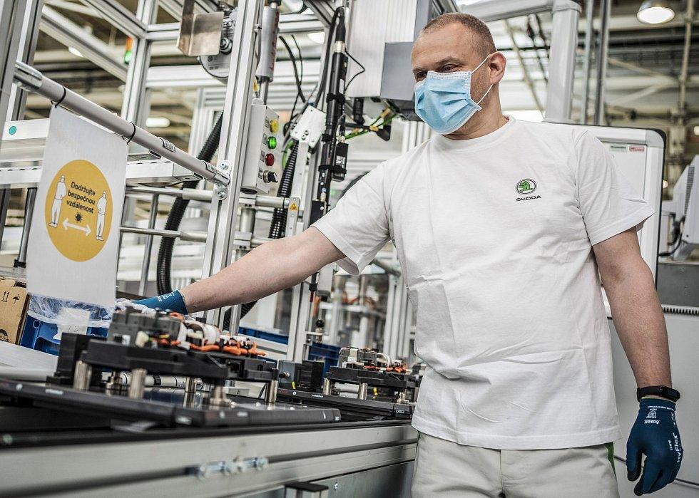 Škoda Auto obnovila výrobu