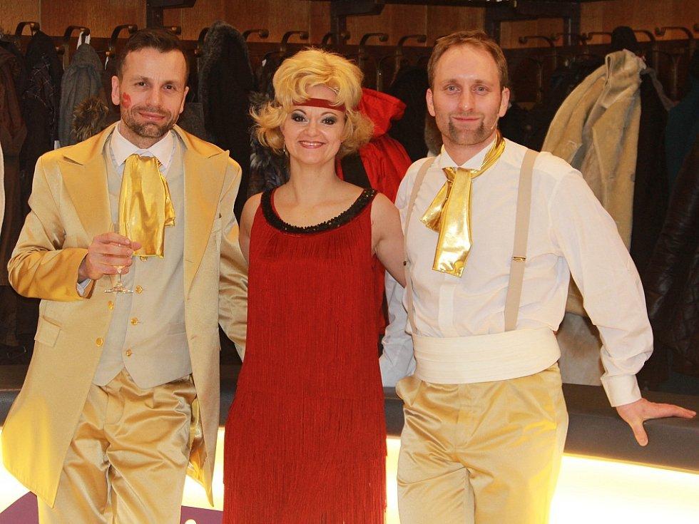Vítězové ankety Zážitek roku 2014, Petr Mikeska, Lucie Matoušková a Pavel Khek
