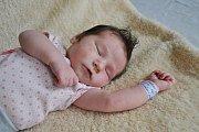 Mahulenka Gřundělová se narodila 18.srpna. Vážila 4,05 kg a měřila 54 cm. S maminkou Barborou, tatínkem Janem a sestřičkou Mariankou budou bydlet v Brandýse nad Labem.