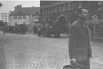 Srpnová invaze v ulicích Mladé Boleslavi tak, jak ji zachytil svým fotoaparátem Stanislav Podlipný