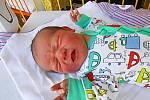 Mikuláš Kolmann, Mladá Boleslav. Narodil se 5. srpna, vážil 3,72 kg a měřil 50 cm. Maminka Andrea, tatínek Pavel a sourozenci Andrea a Marek.