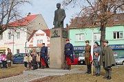 Oslavy 165. výročí narození T. G. Masaryka v Dobrovici.