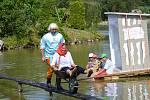 9. neckyáda na rybníku Pískovák v Dolním Bousově