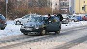 Mráz zaskočil italské inženýr. Fiat nejel.