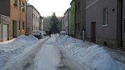 Sněhová peřina přikryla Mladou Boleslav.