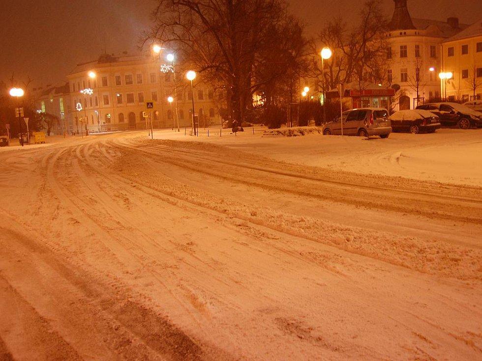 Sníhová kalamita - Mladá Boleslav