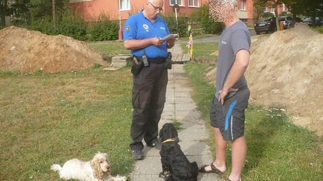 Venčil psy na volno a navíc po nich nechtěl uklidit
