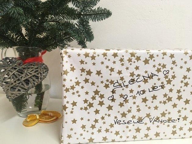 Vánoční projekt Krabice od bot. Ilustrační foto.