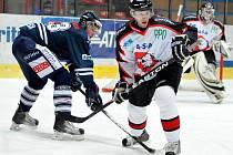 Předkolo play-off I. hokejové ligy (1. zápas): HC Znojemští Orli - HC Benátky nad Jizerou