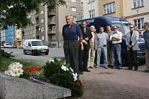 Památku uctilo i několik občanů Boleslavi.