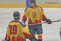 Ze zápasu HC Junior Mělník - NED Nymburk