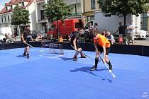 Z charitativního florbalového turnaje v Brandýse nad Labem