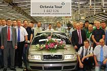 Poslední Škoda Octavia Tour první generace.