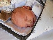 Honzík Pacovský se narodil 13. listopadu, vážil 3,59 kg a 50 cm. S maminkou Míšou a tatínkem Michalem bude bydlet v Mladé Boleslavi.