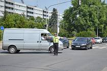 Téměř dvacítka těch nejlepších regulovčíků z celého Středočeského kraje změřila své síly na jedné z nejfrekventovanějších křižovatek v Mladé Boleslavi.