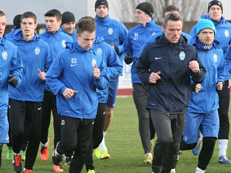 Úvodní trénink FK Mladá Boleslav pod Karlem Jarolímem