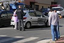 Další dopravní nehoda na křižovatce ulic Laurinova a Dukelská