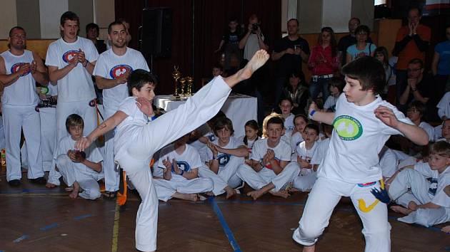 Dětské Mistrovství České republiky v capoeiře