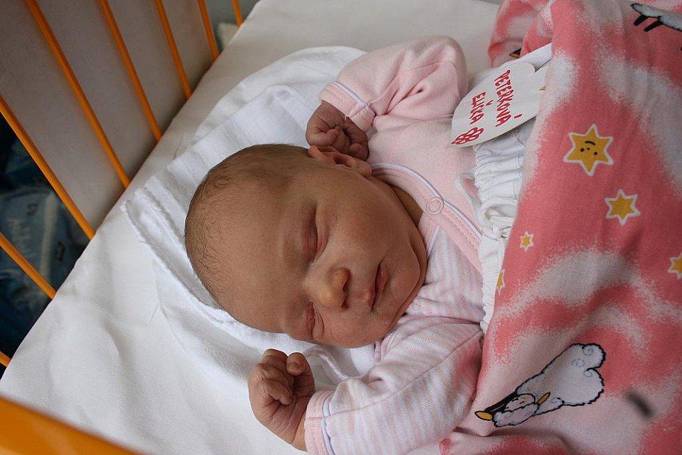 17. března přišla na svět Eliška Peterková s váhou 3,6 kg a délkou 48 cm. Rodiči jsou Petra a Vladimír ze Březinky. Eliška má brášku Vladimíra.