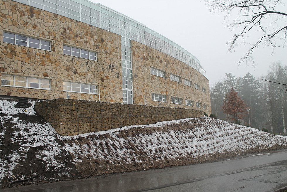 Pírkovo sanatorium - nový pavilon