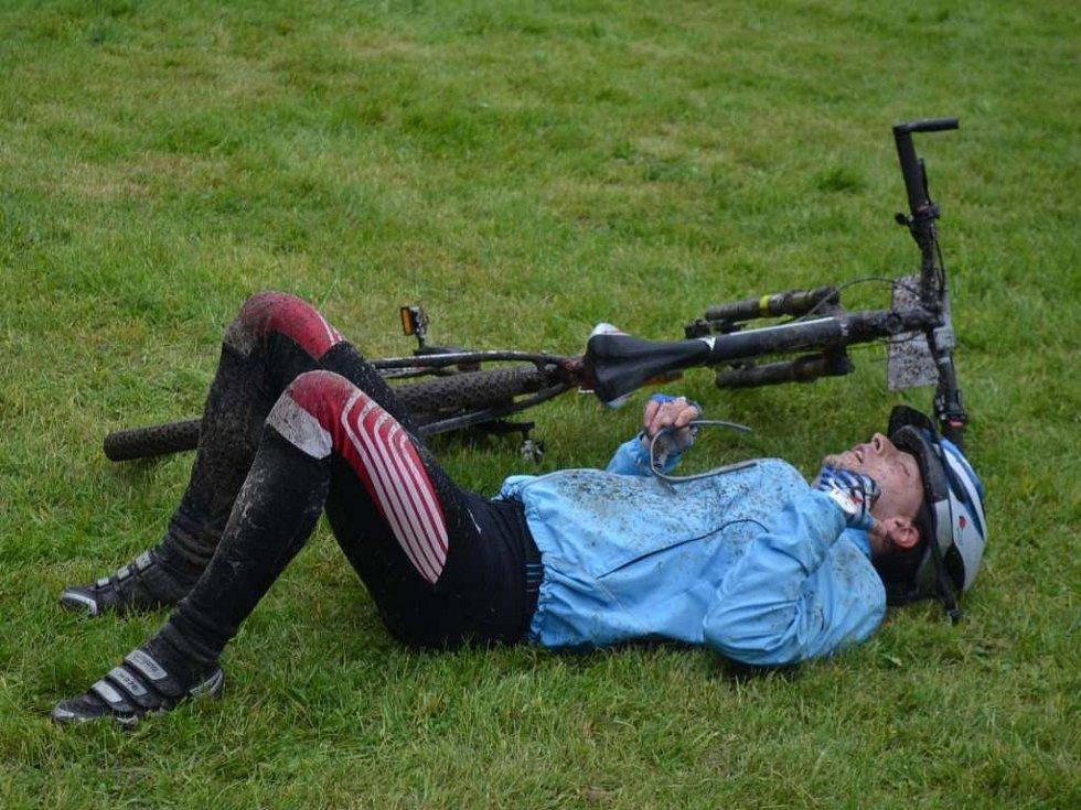 Z cyklistického závodu Author 50 Bezděz 2014.